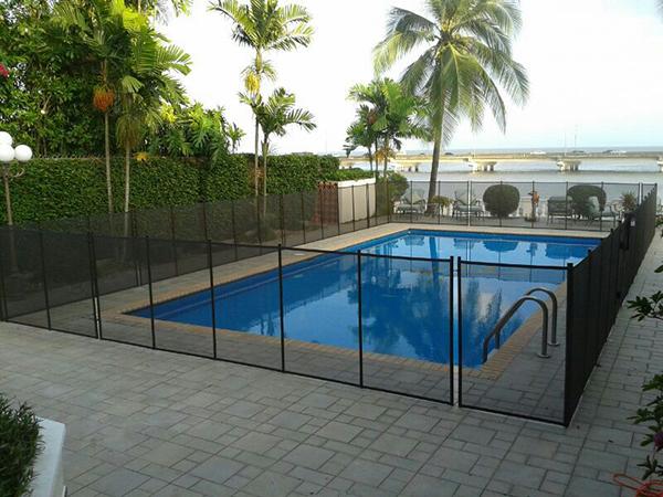 Cercos para piscinas productos panamapro las mallas for Proteccion de piscinas